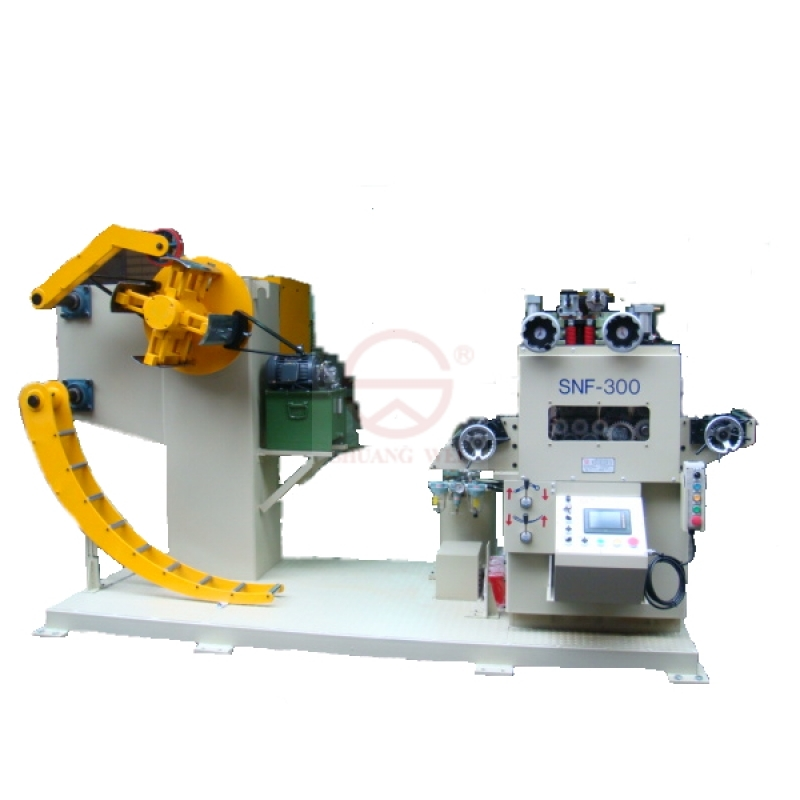 3 in 1 Uncoiler Servo Straightener Feeder - SNF